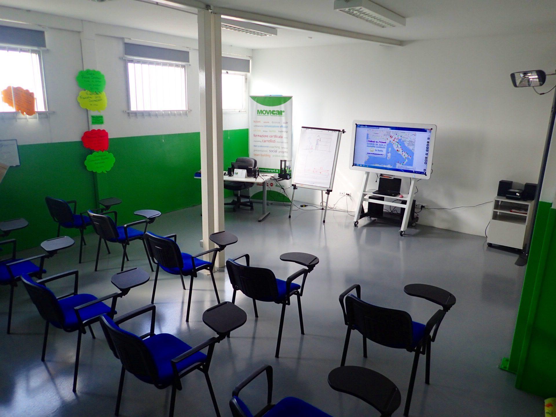 corsi in aula modalità multisala